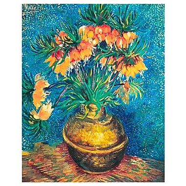 Van Gogh Vase with Flowers by Van Gogh, Canvas, 24
