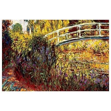 Le Pont Japonais by Monet, Canvas, 24