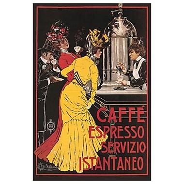Caffe Espresso de Ceccantti, toile, 24 x 36 po