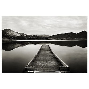 Emigrant Lake Dock I BW by Settle, Canvas, 24