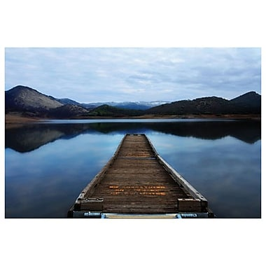 Emigrant Lake Dock I de Settle, toile, 24 x 36 po