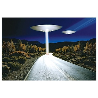 UFO Invasion, Stretched Canvas, 24
