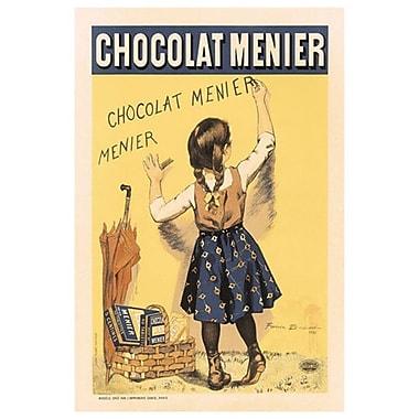 Chocolat Menier de Bouisset, toile, 24 x 36 po