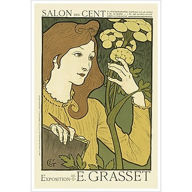 Salon Des Cent by Grasset, Canvas, 24