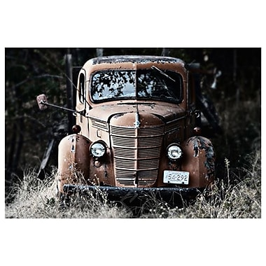 Old Truck in a Field de Settle, toile, 24 x 36 po