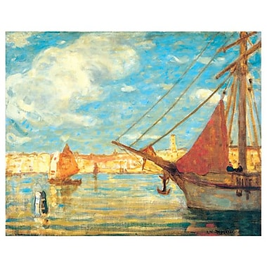Morrice - Port de Venise by Morrice, Canvas, 24