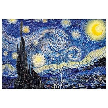 Starry Night by Van Gogh, Canvas, 24
