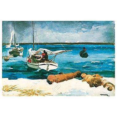 Nassau de Homer, toile, 24 x 36 po