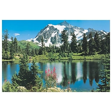 Mountains - Mount Shuksan, Stretched Canvas, 24