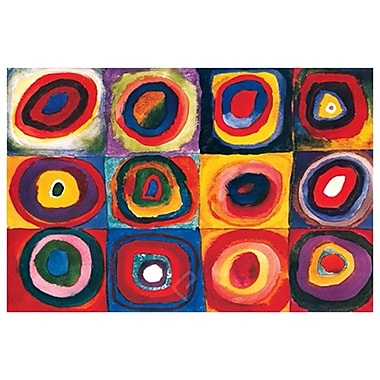 Color Study Square by Kandinsky, Canvas, 24
