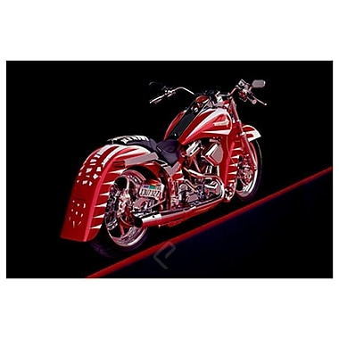 Motorcycle - 1995, Stretched Canvas, 24