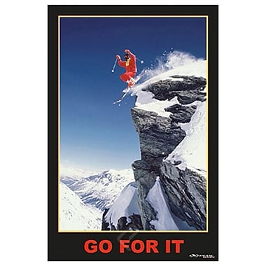 Go For It Extreme Sport, Stretched Canvas, 24