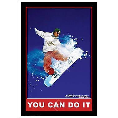 « You can do it », toile tendue, 24 x 36 po
