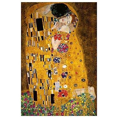 The Kiss by Klimt, Canvas, 24