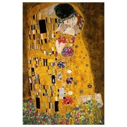 "The Kiss by Klimt, Canvas, 24"" x 36"""