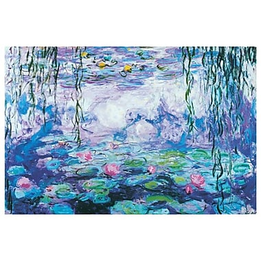 Waterlilies by Monet I, Canvas, 24