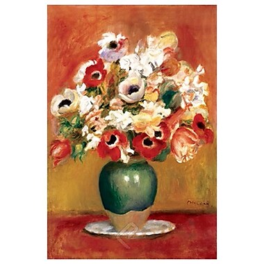 Flowers in a Vase by Renoir, Canvas, 24