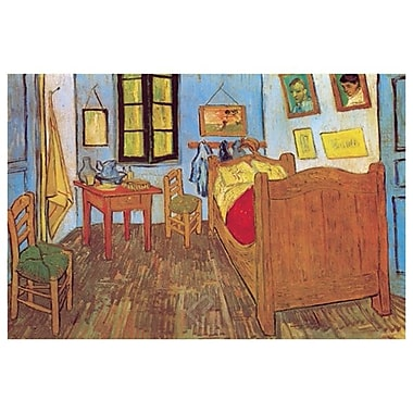 Van Gogh's Room by Van Gogh, Canvas, 24