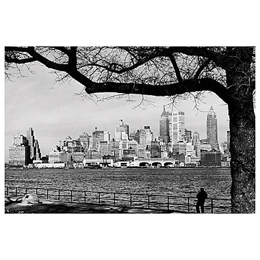 New York - Skyline, Stretched Canvas, 24