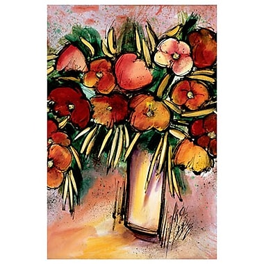 Bouquet de printemps de Provenzano, toile, 24 x 36 po