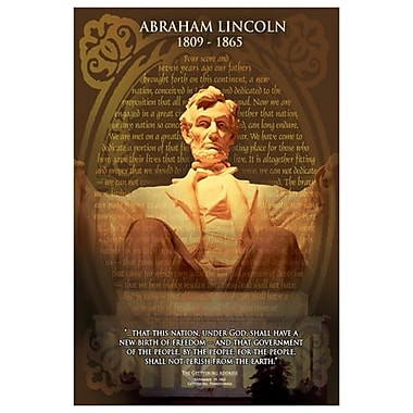 Abraham Lincoln, Stretched Canvas, 24