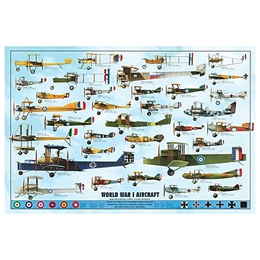 World War I Aircraft I, Stretched Canvas, 24
