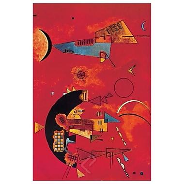 Mit und Gegen de Kandinsky, toile, 24 x 36 po
