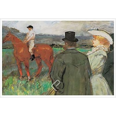 Jockey by Degas, Canvas, 24