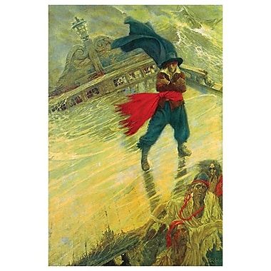 The Flying Dutchman by Pyle, Canvas, 24