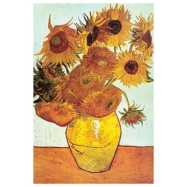 Sunflowers by Van Gogh I, Canvas, 24