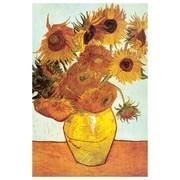 Les Tournesols de Van Gogh, toile, 24 x 36 po