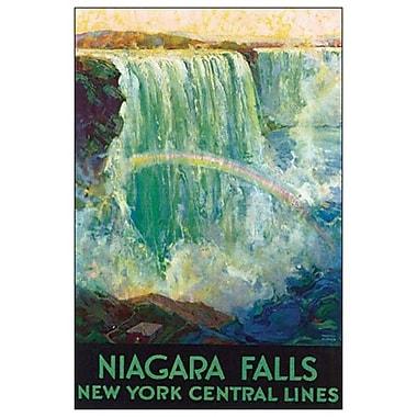 Niagara Falls by Madan, Canvas, 24