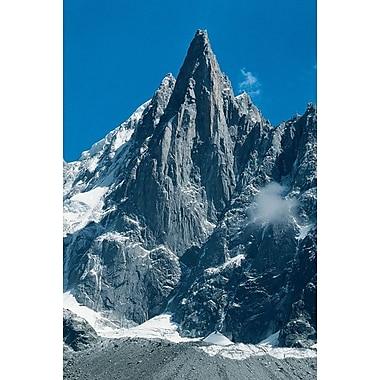 Aiguille du Dru dans le massif du Mont-Blanc, toile tendue, 24 x 36 po