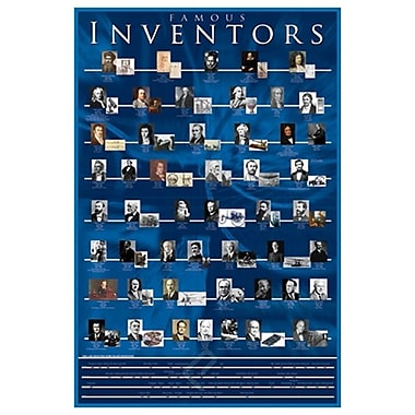 Famous Inventors, Stretched Canvas, 24