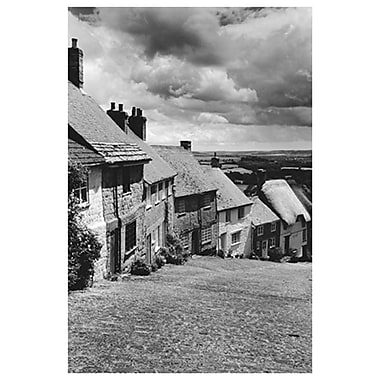 Celtic town England by Shaftesbury, Canvas, 24