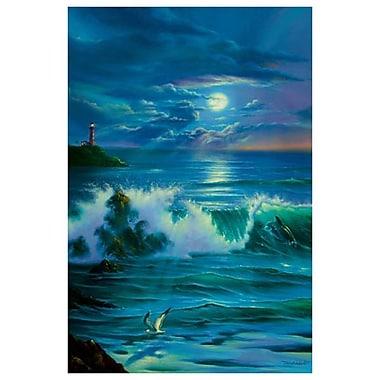 Romance au clair de lune de Warren, toile, 24 x 36 po