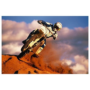 Motocross II, Stretched Canvas, 24