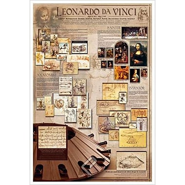 Leonardo da Vinci, Stretched Canvas, 24