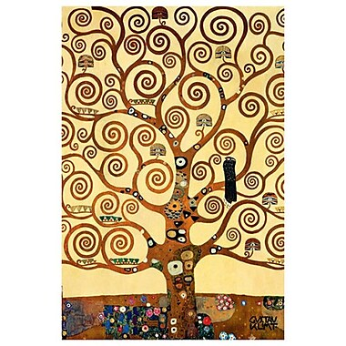 Tree Of Life (Det 2) by Klimt, Canvas, 24