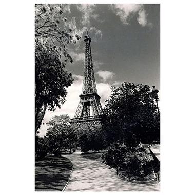 Tour Eiffel, toile tendue, 24 x 36 po
