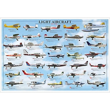 General Aviation Light, Stretched Canvas, 24