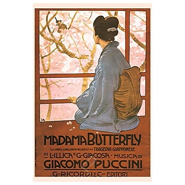 Madama Butterfly by Metlicovitz, Canvas, 24