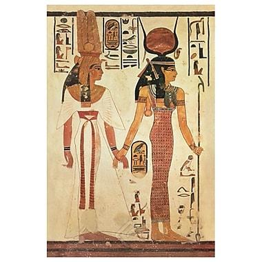 Néfertari, toile tendue, 24 x 36 po