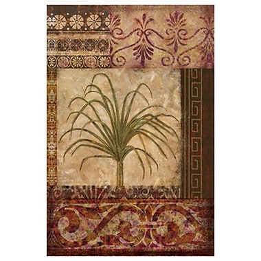 Palmier ornemental II de Ouimette, toile, 24 x 36 po
