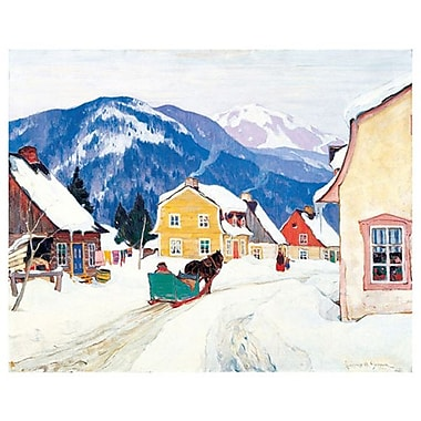 Gagnon Laurentian Village by Gagnon, Canvas, 24
