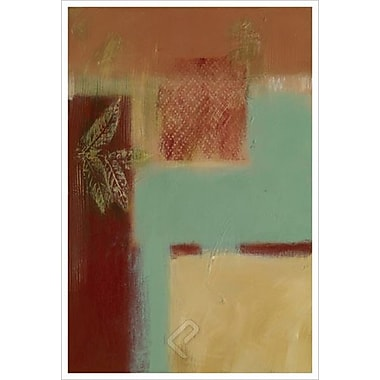 Jade West Diptych 1 by Aviram, Canvas, 24