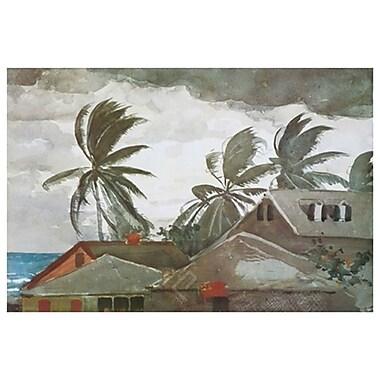Hurricane Bahamas de Homer, toile, 24 x 36 po