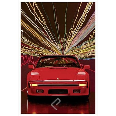 Porsche 911 Slopenose Convertible, Stretched Canvas, 24