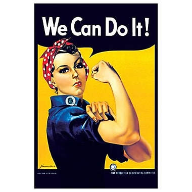 Rosie The Riveter by Miller, Canvas, 24