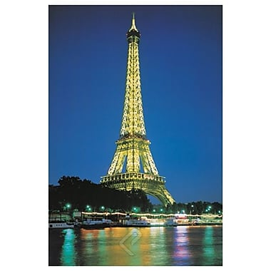 Tour Eiffel, Paris, toile tendue, 24 x 36 po